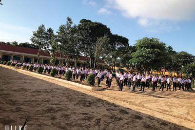 Tập thể dục giữa giờ: Nét đẹp học đường