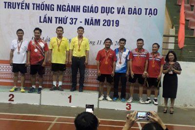 Đạt giải ba hội thao Truyền thống ngành giáo dục 2019