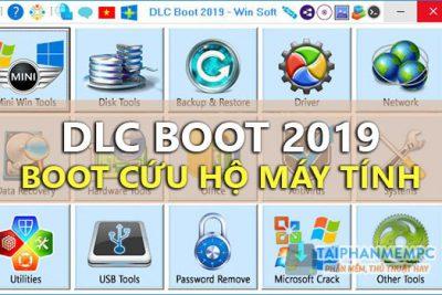 Phần mềm Hirent Boot HDD Cứu Hộ Máy Tính