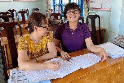 Giao bài tập về nhà khi học sinh nghỉ tự học .Cuối năm học 2020 – 2021